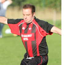 Fiddle played the lone striker role against Alness